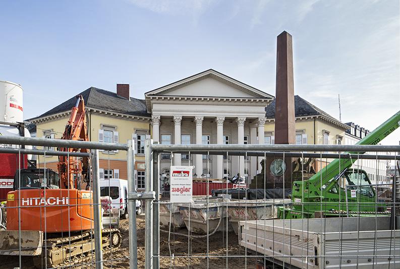 Zustand 300, Karlsruhe,  Baustelle, Strassenbahn, Dirk Altenkirch